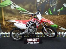 Honda CRF 250 Motocross bike EFI twin pipe