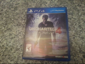 Selling Uncharted 4 PS4 Excellent Used Condition / Trade for BF1