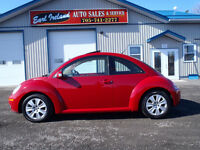 2008 Volkswagen Beetle in bright Red