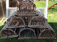Lobster traps straight from PEI
