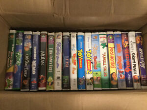 Vhs disney and other childrens movies