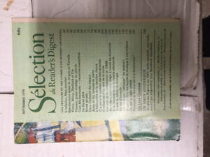 Collection Revues Reader Digest 1973-2016 environ