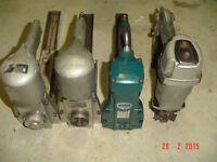 LOT OF 3 USED INDUSTRIAL PNEUMATIC CARTON STAPLERS
