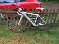 Carrera road bike 58 cms