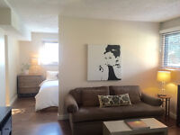 Sunny walkout suite in Edgemont