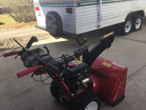 Troy-Bilt Two-Stage Snow Thrower- 500& 600 Series