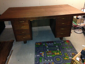 Big antique desk