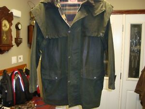 PAIR OF AUSTRALIAN OUTBACK OIL SKIN JACKETS