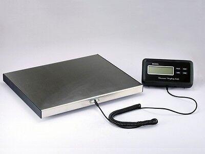 Plattformwaage Paketwaage Tischwaage 150kg 0,05 Edelstahl Profi Qualität 40x30 2