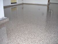 Epoxy garage floor