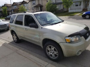 Ford Escape 4*4 2005 130K Calgary SUV Car for sell