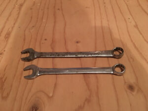 "Snap-On Wrenches- 13/16"" & 3/4"""