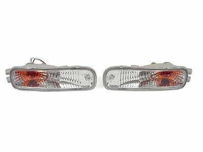 DEPO JDM Front Crystal Clear Bumper Signal Lights For 1993-1997 Nissan Altima