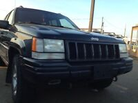 1998 Jeep Grand Cherokee 3500$ OBO SUV, Crossover
