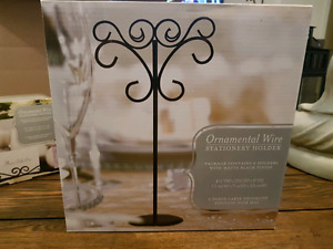 Weddingstar Ornamental Wire Stationery Holders