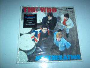 lp by the Who Deluxe Stereo reduce to 20$