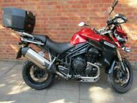 TIUMPH TIGER 1200 EXPLORER FULLY LOADED TOURING BIKE WITH FULL SERVICE HISTORY