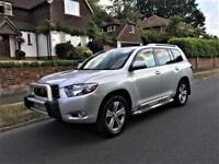 2008 Toyota HIGHLANDER HILUX 3.5 AUTO 7 SEATER ONLY 49K