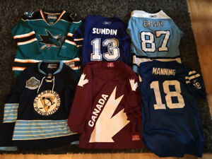NHL/NFL youth jerseys