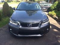 2012 Lexus CT 200h Sedan