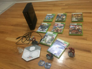 Xbox 360 & Game titles on sale.