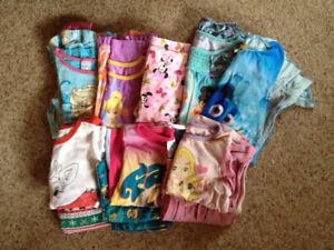 Girl's Pajamas, size 5-7