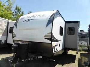 2019 Forest River Solaire 240BHS 24 pieds