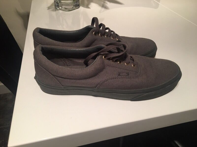 Vans - limited edition all grey. Men's size 10 uk