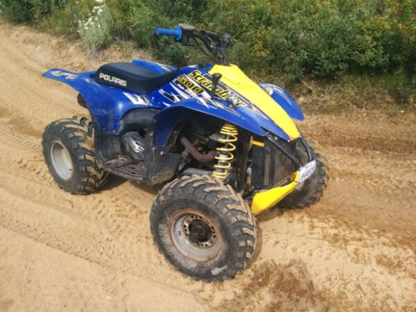 Used 2003 Polaris Scrambler 500 Ho