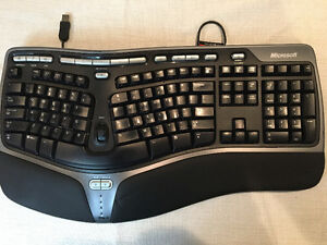 ergonomic keyboard kijiji free classifieds in calgary find a job buy a car find a house or. Black Bedroom Furniture Sets. Home Design Ideas