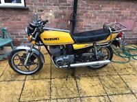 1979 SUZUKI GT200 X5 CLASSIC IN STORAGE FOR 20 YEARS