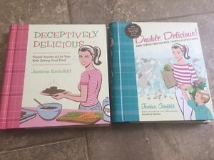 Deceptively Delicious cookbooks