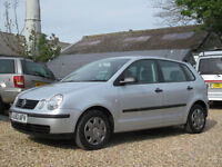 2003/53 VOLKSWAGEN POLO 1.2 E 5DOOR HATCH - ONLY 60000 MILES FROM NEW !!