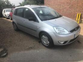 Ford Fiesta Silver 1.6 5 Door 2 x Keys 61k Mot 07/19
