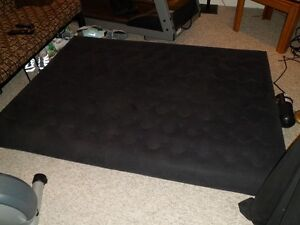 Intex inflatable air mattress with built in electric pump
