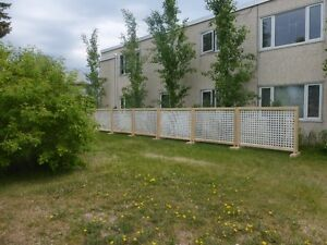 Temporary fence / fencing/ privacy screen Strathcona County Edmonton Area image 4