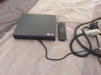 DVD PLAYER WITH REMOTE AND SCART