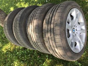 4 pneus hivers Pirelli Sottozero 225 50 r17