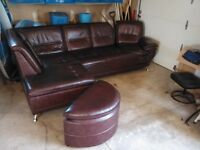 Big couch with chaise
