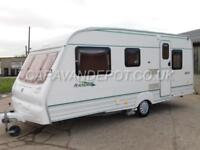 Bailey Ranger 500/5, 2001, 5 Berth, Double Dinette, Optional Rear Fixed Bed!