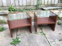 Pair of IKEA Ramberg bedside tables