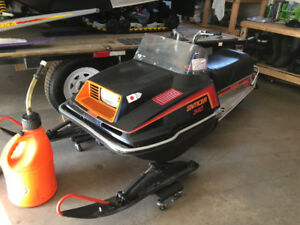 1982 Yamaha enticer part out complete
