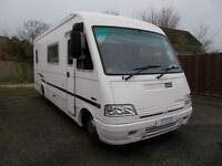 Auto Sleeper Luxor EB 5 Berth 4 Traveling Seats Rear Fixed Bed Ref 9032