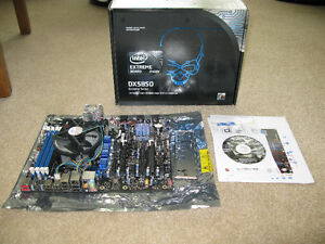 Intel DX58SO Motherboard & i7 960 CPU