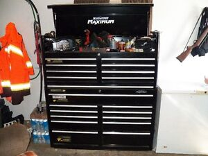 Master Craft Maximum Tool Box and tools