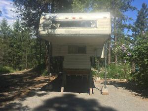 8 Foot Okanagan Truck camper