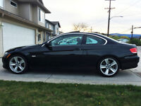 BMW 335i coupe with warranty till 2019