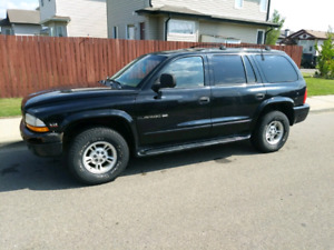 2000 Dodge Durango trade only.