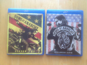 Blu-ray Sons of Anarchy Saisons 1 & 2