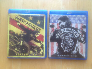 Blu-ray Sons of Anarchy Season 1 and 2